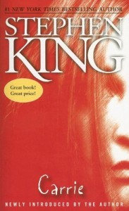 Carrie by Stephen King - Top Ten Tuesday