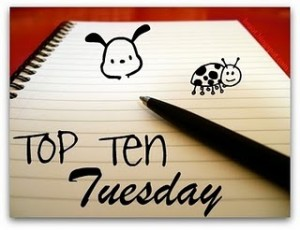 Top Ten Tuesday(15)