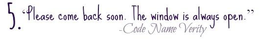 Code name verity quote