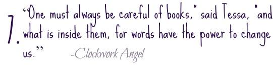 clockwork angel quote