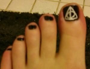 Harry Potter toenails