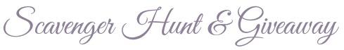 Scavenger Hunt & Giveaway