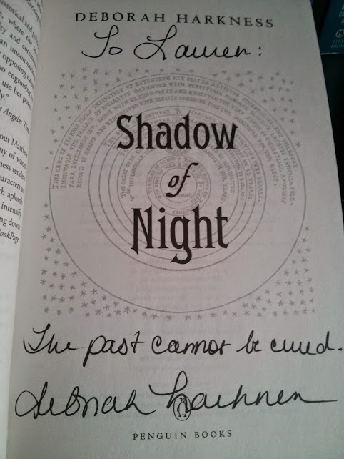 Shadow of Night Signed