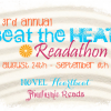 3rd Annual Beat the Heat Readathon Sign Up & Progress Post!